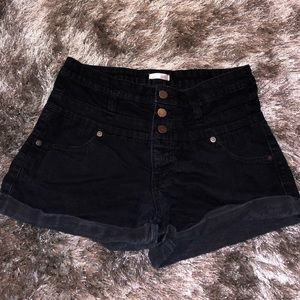 Xhilaration high waisted jean shorts